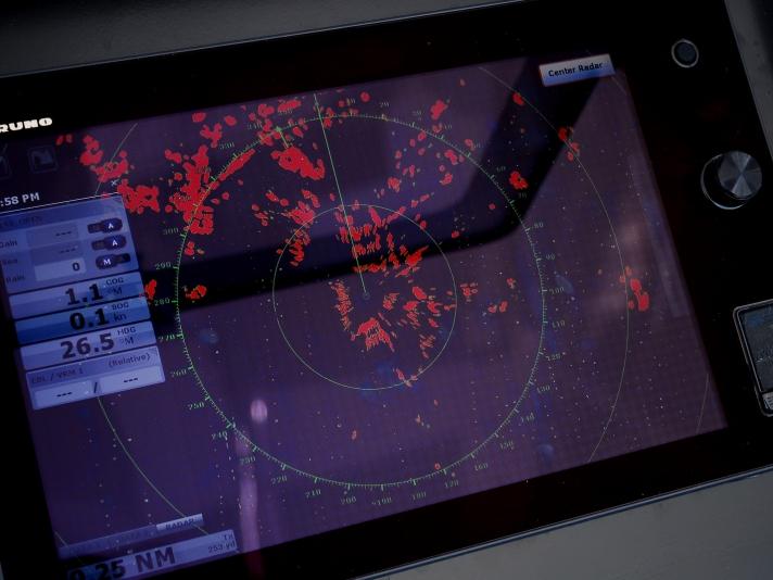 Furuno radar technology