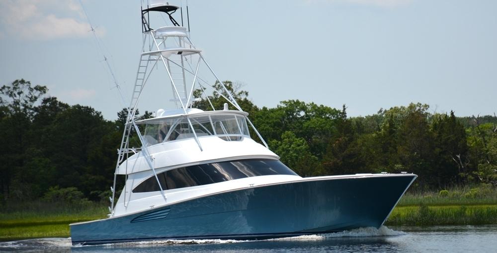 Atlantic Marine Electronics Viking 72 Demo Yacht