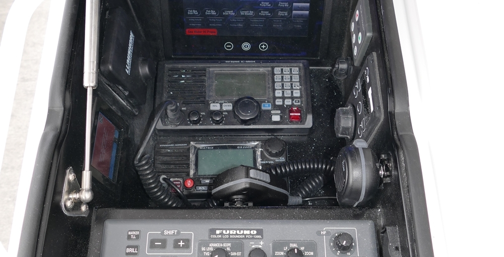 Atlantic Marine Electronics Viking 72 Demo Furuno FCV1200 BB Commercial Video Sounder