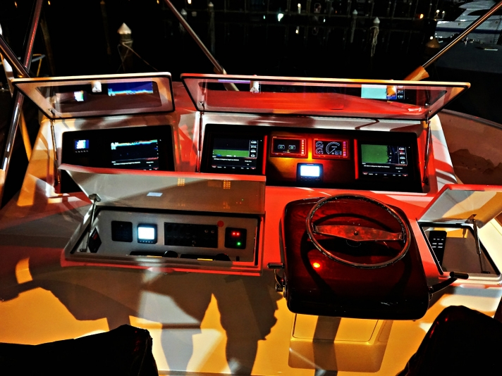 Steering and navigation area