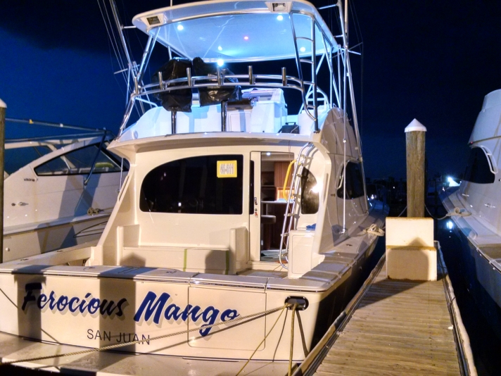 Ferocious Mango Yacht Atlantic Marine Electronics